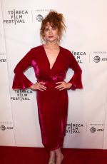 SARAH HAY at Braid Premiere at Tribeca Film Festival in New York 04/22/2018