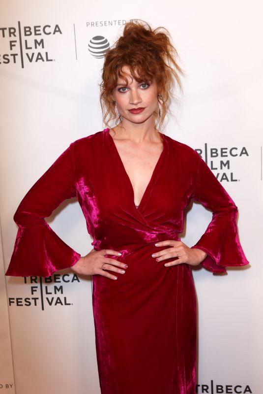 SARAH HAY at Braid Premiere at Tribeca Film Festival in New York 04/22/2018