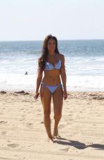 SARAH-JANE CRAWFORD in Bikini on the Beach in Santa Monica 04/04/2018