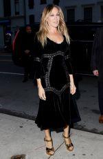 SARAH JESSICA PARKER Arrives at 2018 Tribeca Film Festival in New York 04/19/2018