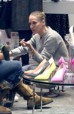 SARAH JESSICA PARKER at Her SJP Pop Up Shoe Store in New York 04/02/2018