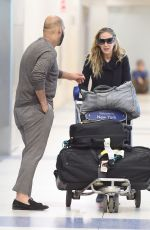 SARAH JESSICA PARKER at JFK Airport in New York 04/15/2018