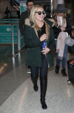 SARAH MICHELLE GELLAR at Los Angeles International Airport 04/10/2018