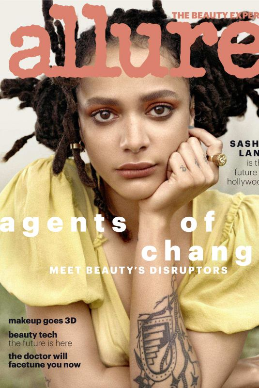 SASHA LANE in Allure Magazine, May 2018 Issue