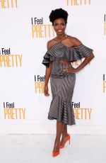 SASHEER ZAMATA at I Feel Pretty Premiere in Los Angeles 04/17/2018