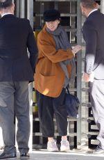 SCARLETT JOHANSSON at JFK Airport in New York 04/26/2018