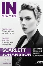 SCARLETT JOHANSSON in IN New York Magazine, May 2018 Issue