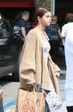 SELENA GOMEZ Arrives at Sunday Church Service on Easter in Los Angeles 04/01/2018