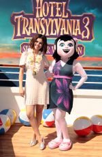 SELENA GOMEZ at Hotel Transylvania 3: Summer Vacation Photocall in Culver City 04/11/2018