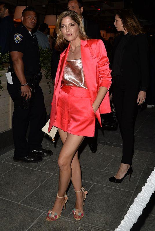 SELMA BLAIR at Avra Restaurant Opening in Beverly Hills 04/26/2018