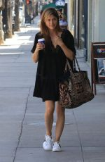 SELMA BLAIR at Bluestone Lane in Studio City 04/10/2018