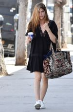 SELMA BLAIR Out and About in Studio City 04/10/2018