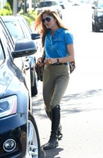 SELMA BLAIR Out and About in West Hollywood 04/24/2018