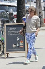SELMA BLAIR Out for Coffee in Hollywood 04/27/2018