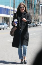 SELMA BLAIR Out for Coffee in Los Angeles 04/16/2018