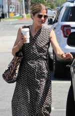 SELMA BLAIR Out for Coffee in Los Angeles 04/23/2018