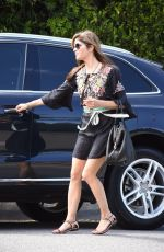 SELMA BLAIR Out Shopping in West Hollywood 04/07/2018