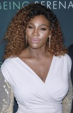 SERENA WILLIAMS at Being Serena. Her Story. Her Words Premiere in New York 04/25/2018