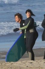 SHAILENE WOODLEY Gets a Surfing Lesson in Sausalito 04/29/2018