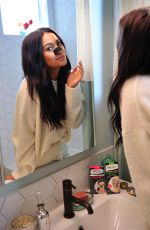 SHAY MITCHELL for Biore Deep Cleansing Charcoal Pore Strips, February 2018
