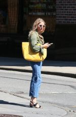 SIENNA MILLER Out and About in New York 04/23/2018