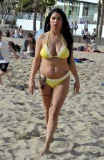 SIMONE REED in Bikini at a Beach in Spain 04/27/2018
