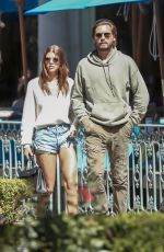 SOFIA RICHIE and Scott Disick Leaves Sugarfish in Calabasas 04/07/2018
