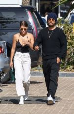 SOFIA RICHIE and Scott Disick Out and About in Malibu 04/28/2018