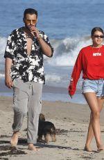 SOFIA RICHIE in Denim Shorts at a Beach in Malibu 04/22/2018