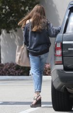 SOFIA VERGARA in Ripped Jeans Out Shopping in Beverly Hills 04/02/2018