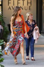 SOFIA VERGARA Out Sshopping in Bal Harbour 04/12/2018