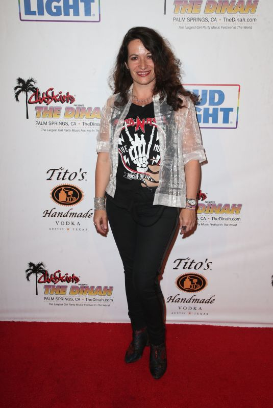 SONIA SEBASTIAN at Club Skirts Presents the Dinah Shore the Hollywood Party in Palm Springs 03/31/2018