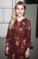 SOPHIA ANNE CARUSO at Woman Walks Ahead Premiere at Tribeca Film Festival 04/25/2018