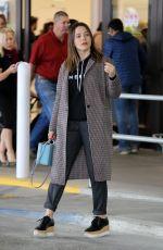 SOPHIA BUSH at Los Angeles International Airport 04/07/2018