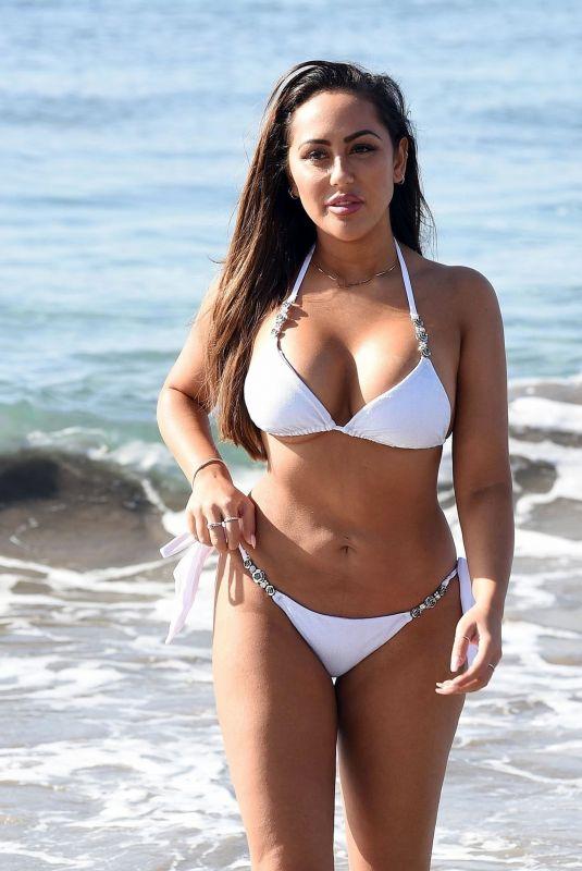 SOPHIE KASAEI in White Bikini at a Beach in Turkey 04/26/2018
