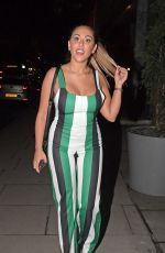 SOPHIE KASAEI Night Out in London 04/03/2018