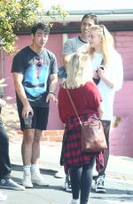 SOPHIE TURNER Leaves a Gym in Hollywood 04/06/2018