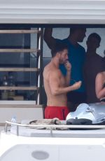 STEPHANIE DAVIS and GABBY ALLEN on Vacation in Marbella 04/23/2018