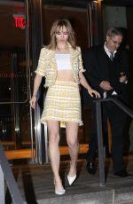 SUKI WATERHOUSE Arrives at Gigi's Birthday Party in New York 04/23/2018