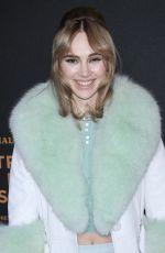 SUKI WATERHOUSE at Bvlgari Premiere at Tribeca Film Festival 04/26/2018