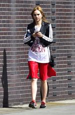 SUKI WATERHOUSE Working Out at a Gym in New York 04/24/2018