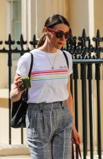 SUREANNE JONES Arrives at Theatre Royal Haymarket in London 04/21/2018