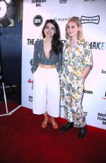 SYDNEY CRAVEN and CALLIE COOKE at Raindance Independent Filmmaker's Ball in London 04/18/2018
