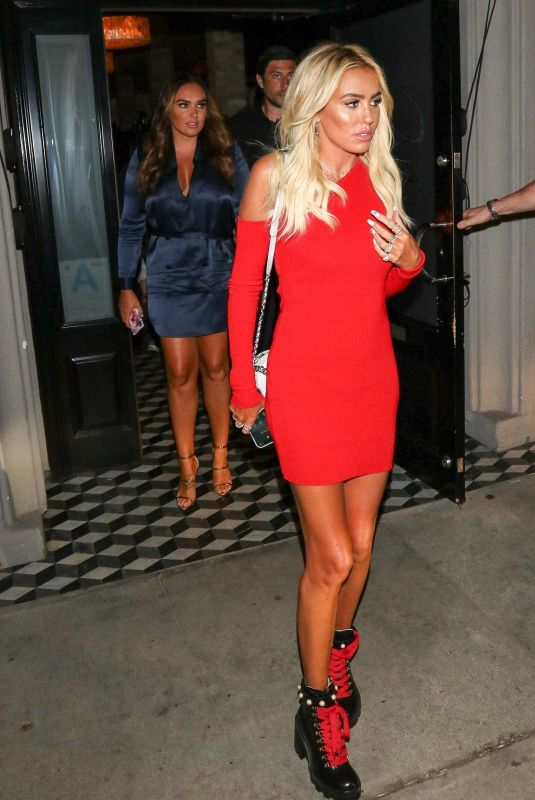 TAMARA and PETRA ECCLESTONE at Craig
