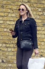 TAMZIN OUTHWAITE Out and About in London 04/24/2018
