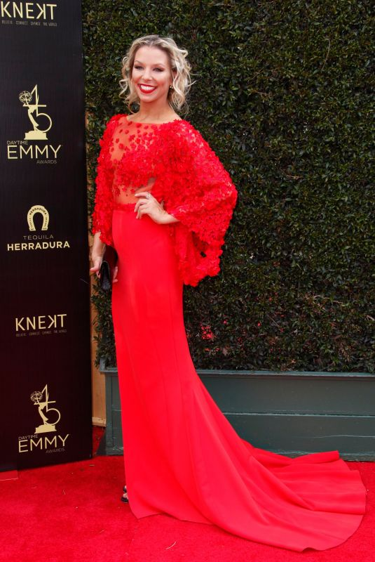 TARA TALKINGTON at Daytime Emmy Awards 2018 in Los Angeles 04/29/2018