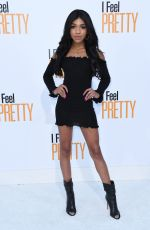 TEALA DUNN at I Feel Pretty Premiere in Los Angeles 04/17/2018