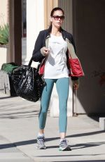 TERI HATCHER Arrives at a Gym in Studio City 04/08/2018