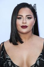 TESSA BROOKS at Daily Front Row Fashion Awards in Los Angeles 04/08/2018