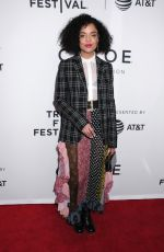 TESSA THOMPSON at Little Woods Premiere at Tribeca Film Festival in New York 04/21/2018